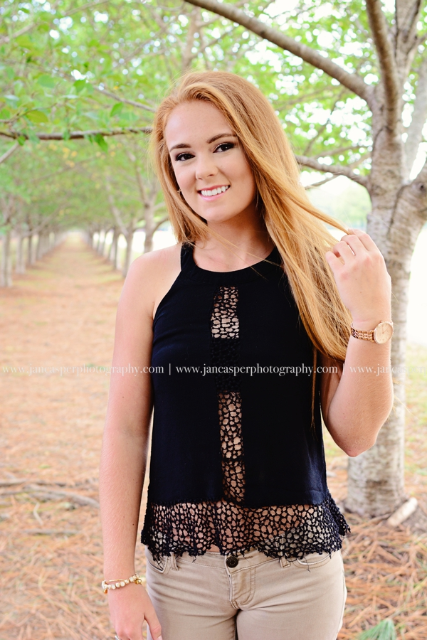 Red Wing Park senior portrait Virginia Beach Jan Casper Photography