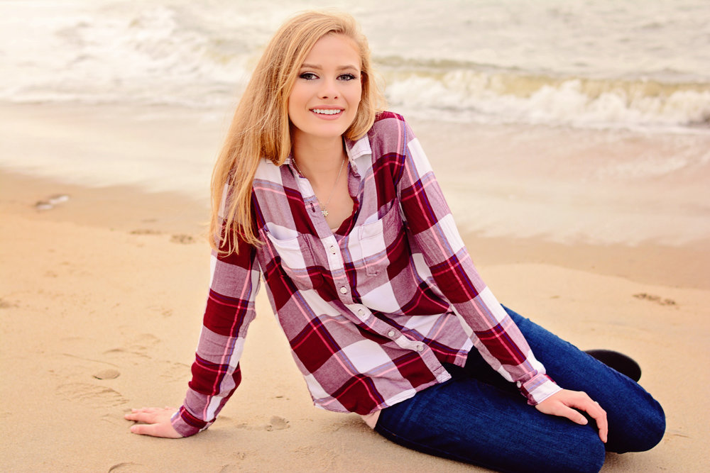 First Landing State Park senior portrait Jan Casper Photography Virginia