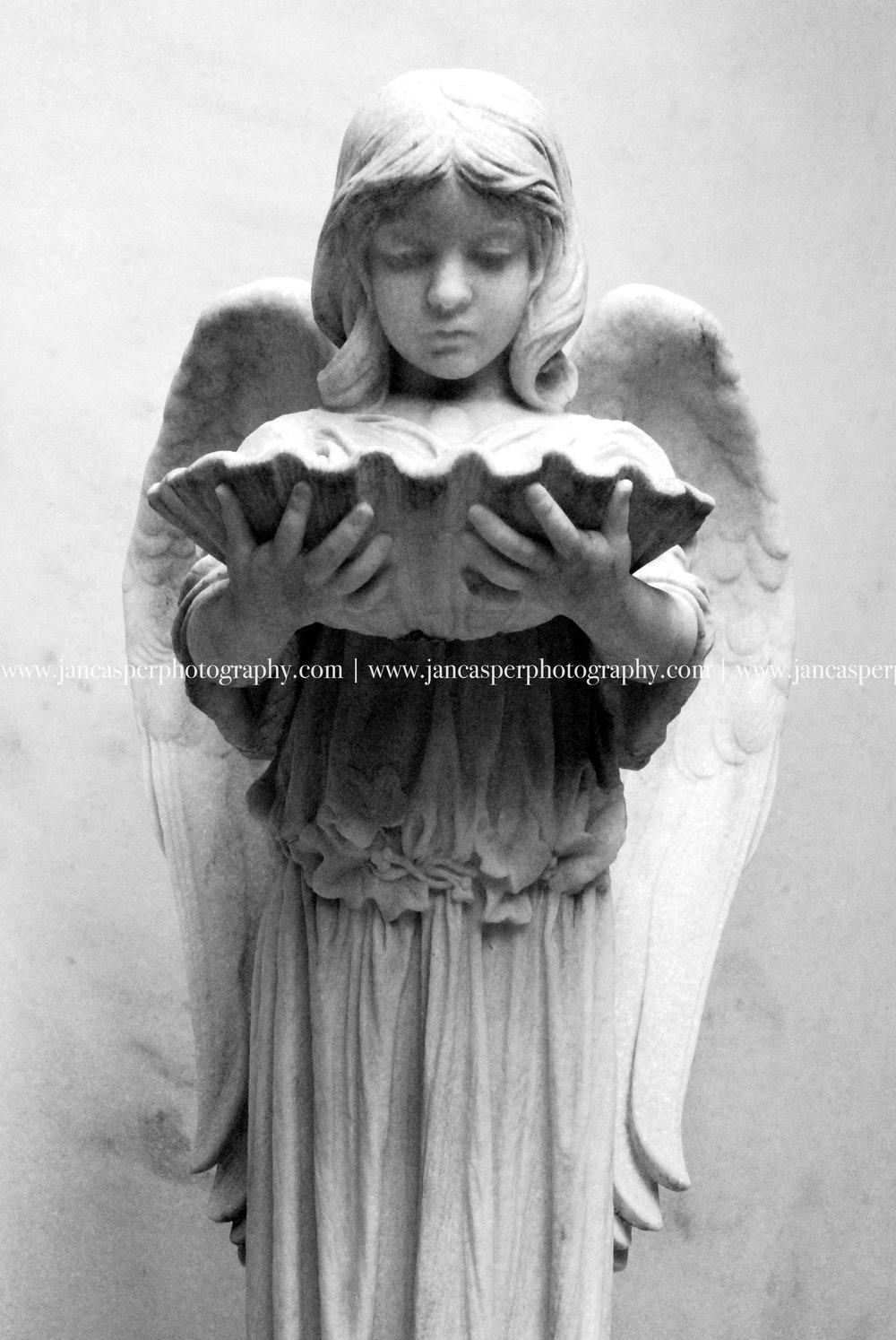 cemetery art  Bonaventure Cemetery Jan Casper Photography