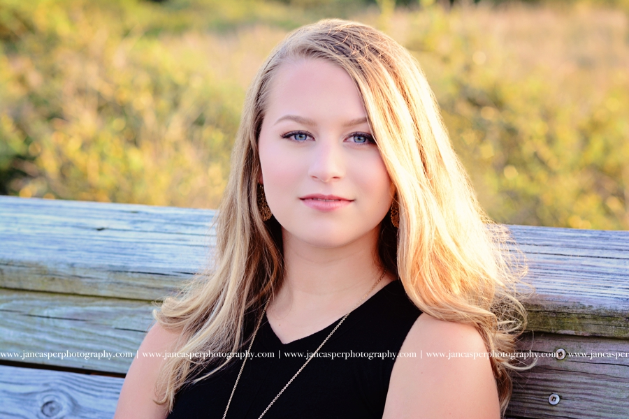 senior portrait First Landing State Park Virginia Beach Jan Casper Photography Virginia