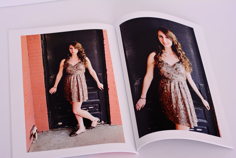 magazine look book Jan Casper Photography senior portrait Virginia Beach