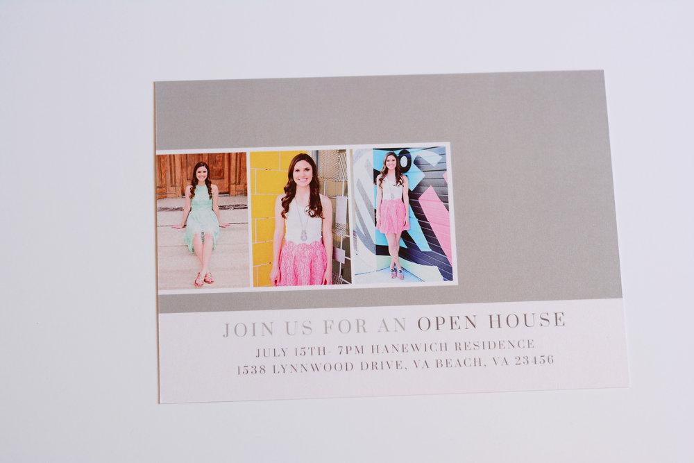 graduation announcement Jan Casper Photography senior portrait Virginia Beach