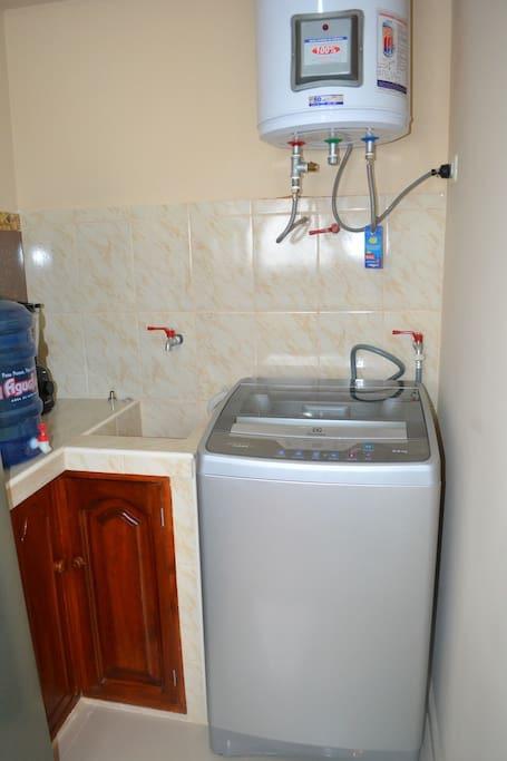 Trujillo, Peru apartment laundry