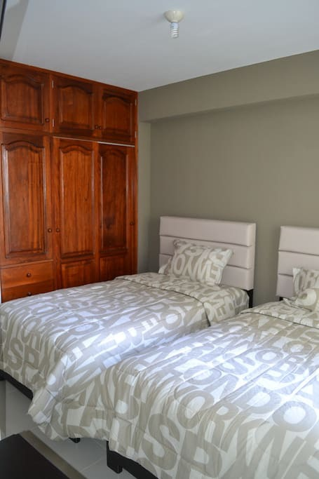 Trujillo, Peru apartment bedroom