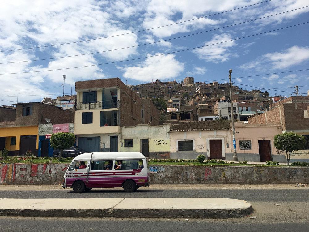 Combi in Peru