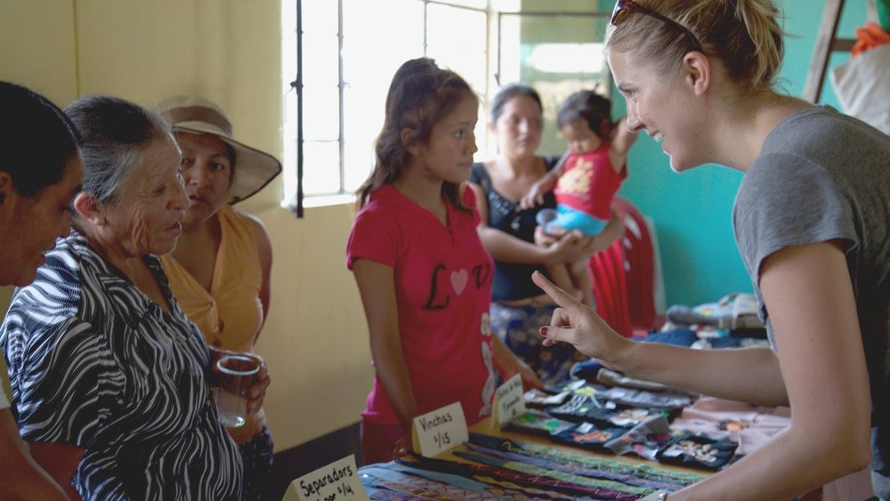 Women's collective in Peru