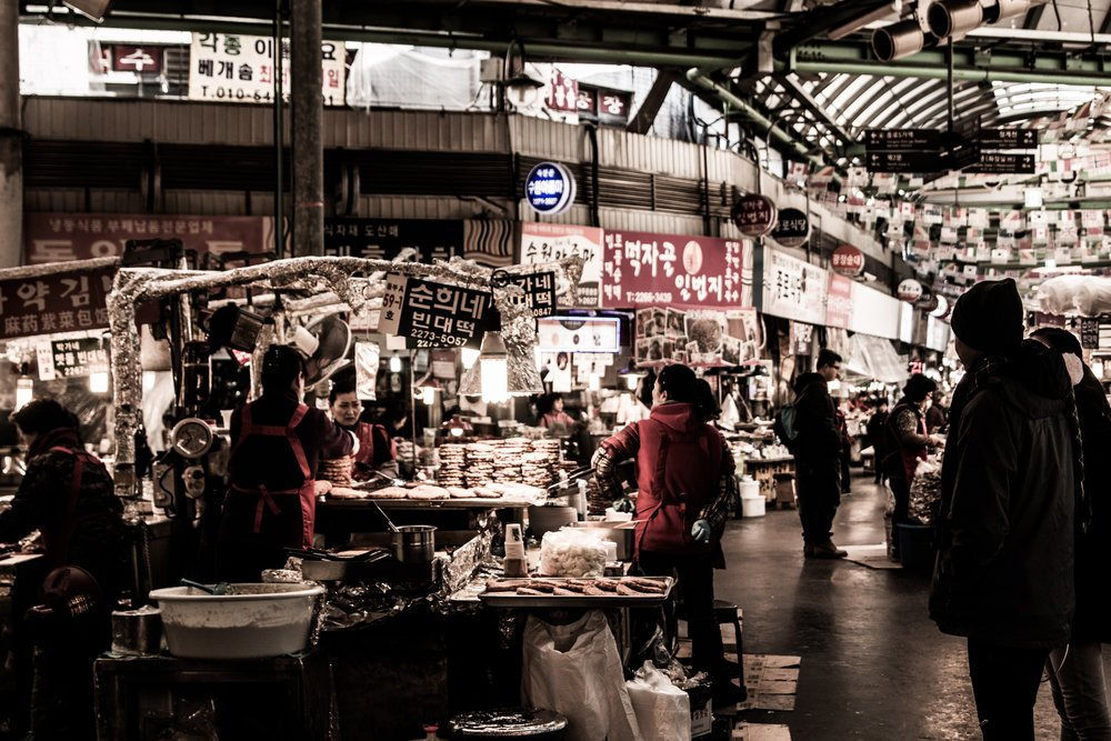 Night Market - Photo by Xavier Teo on Unsplash