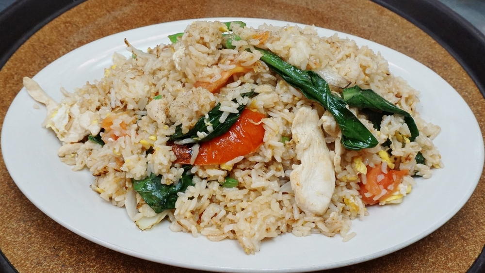 traditional thai fried rice
