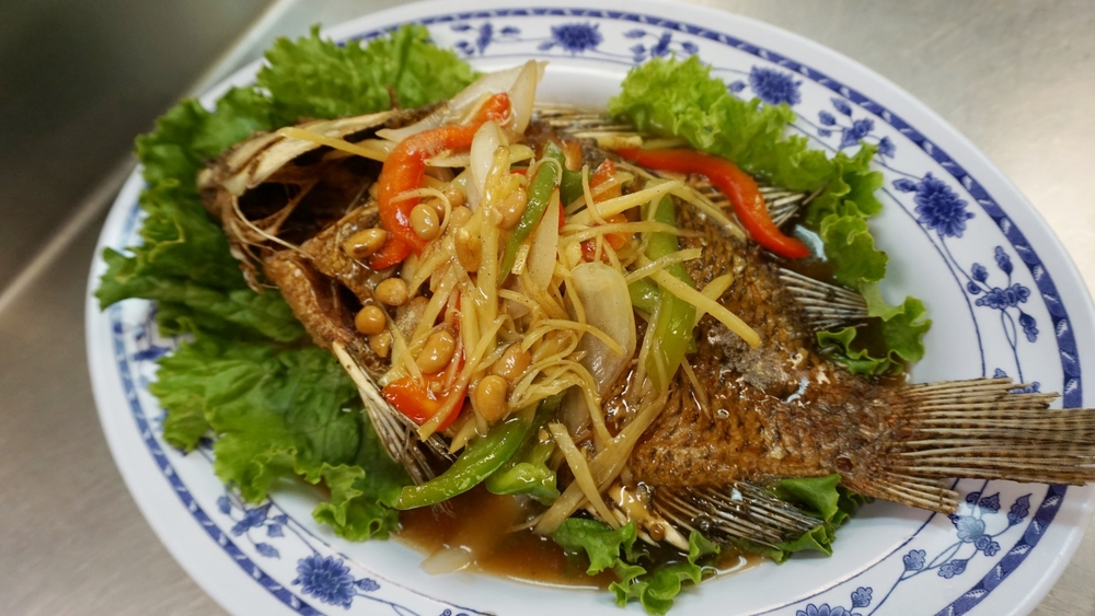 ginger fried fish