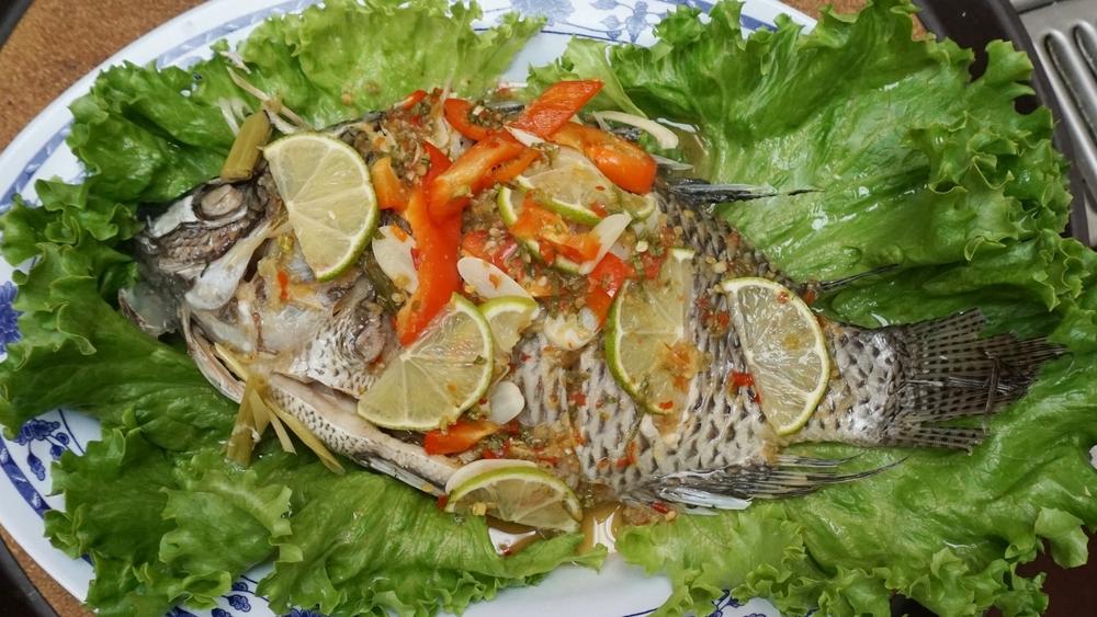 steam sour fish