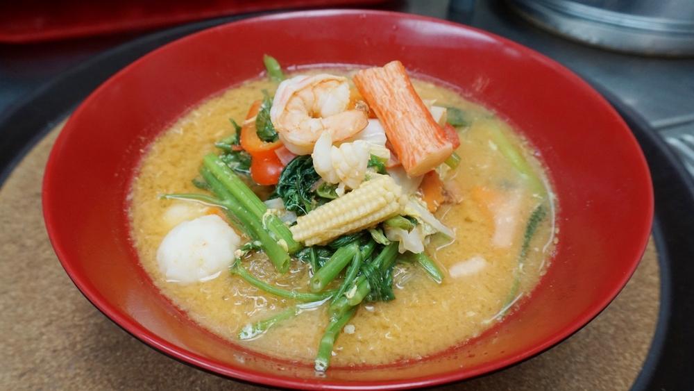Suki-yaki seafood