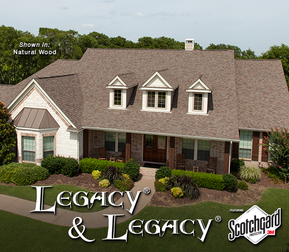 Legacy Class 4 Impact Resistant Shingle