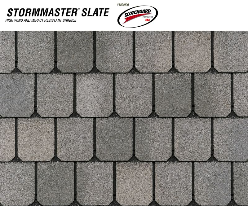Stormaster Slate Class 4 Impact Resistant Shingle