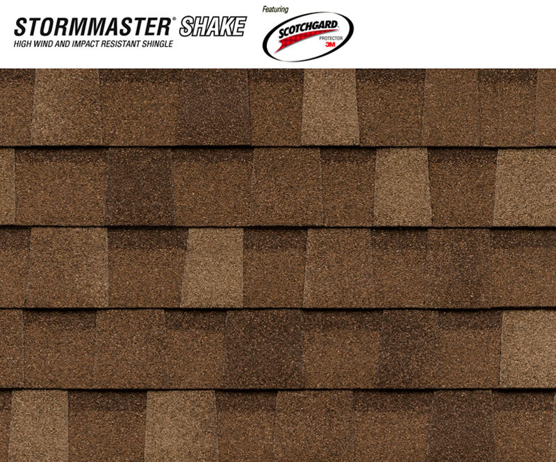 Stormaster Shake Class 4 Impact Resistant Shingle