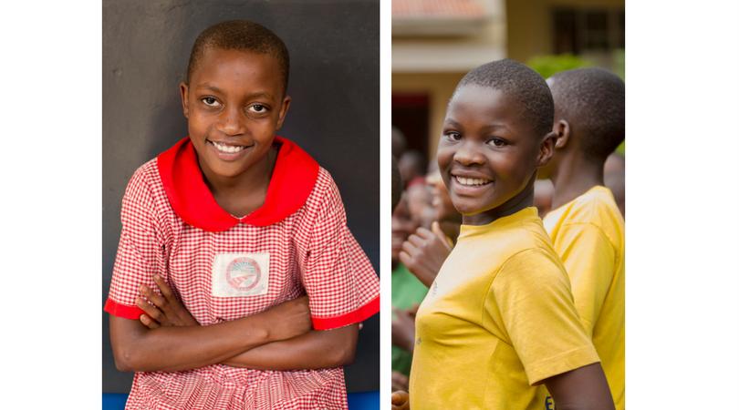 MENTEES OF THE YEAR Esther N. & Dorcus N. STF Scholars in Uganda