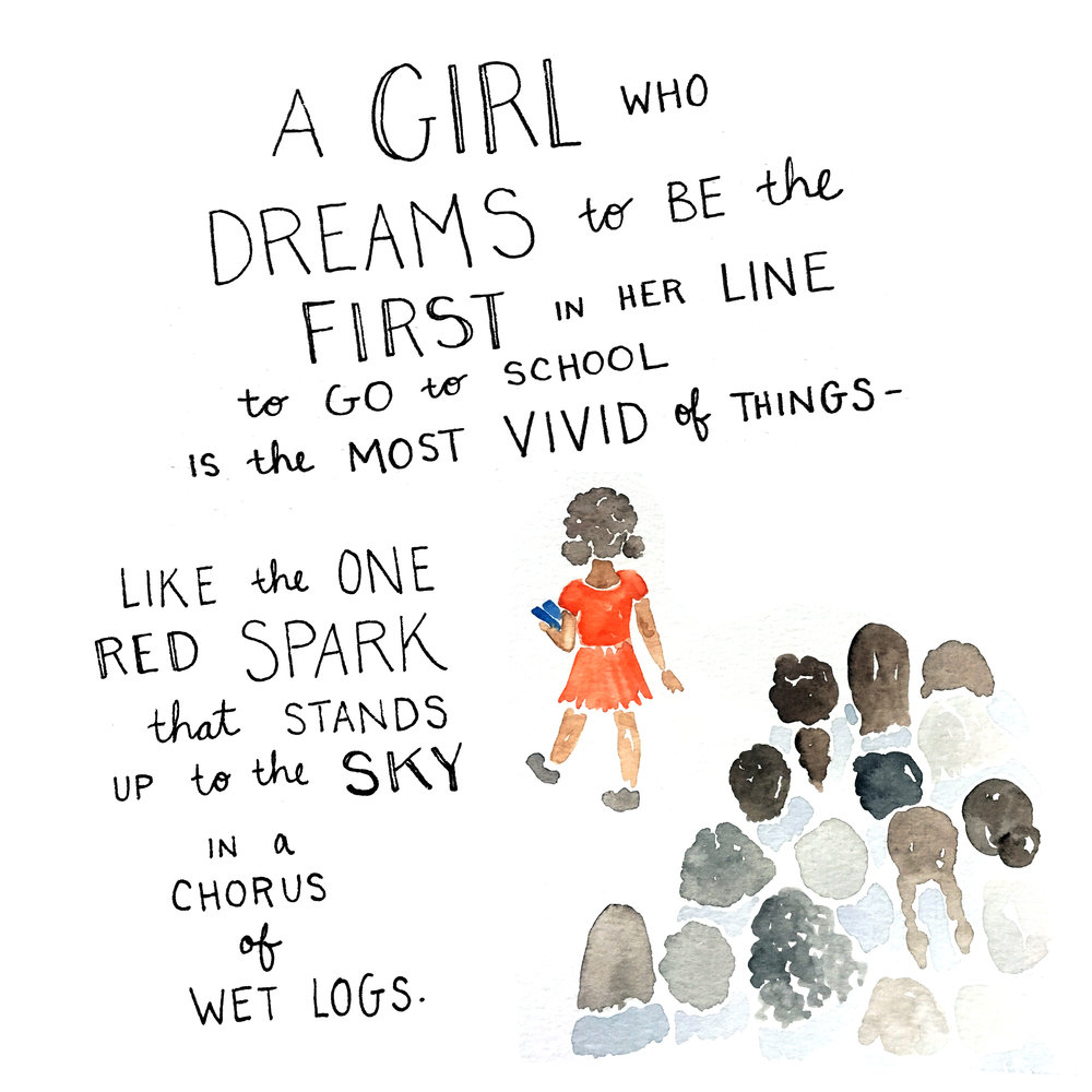 Illustrated by @KimothyJoy, words by @AmandaSCGorman