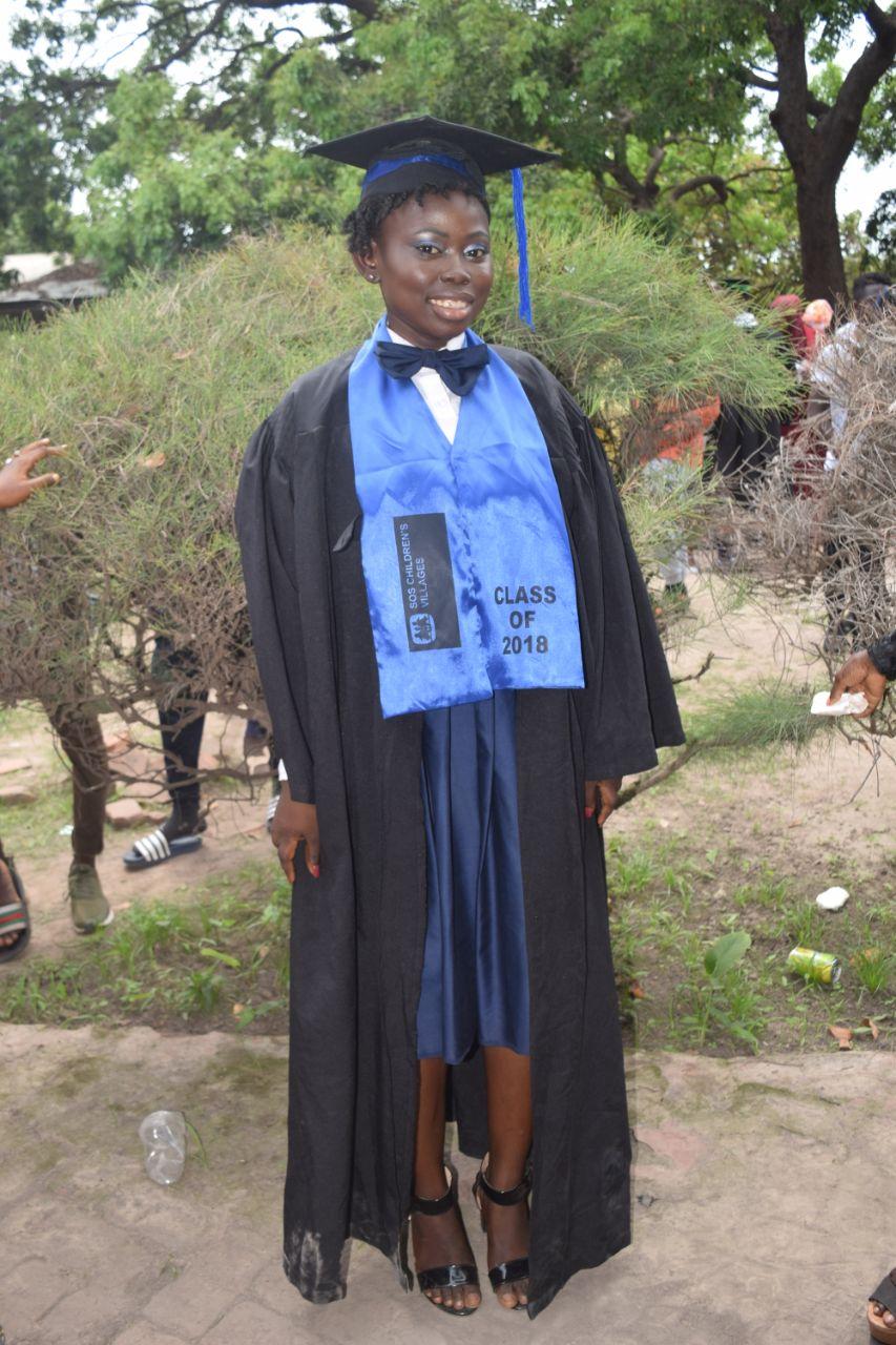 Graduated STF Scholar and Mentor Aji