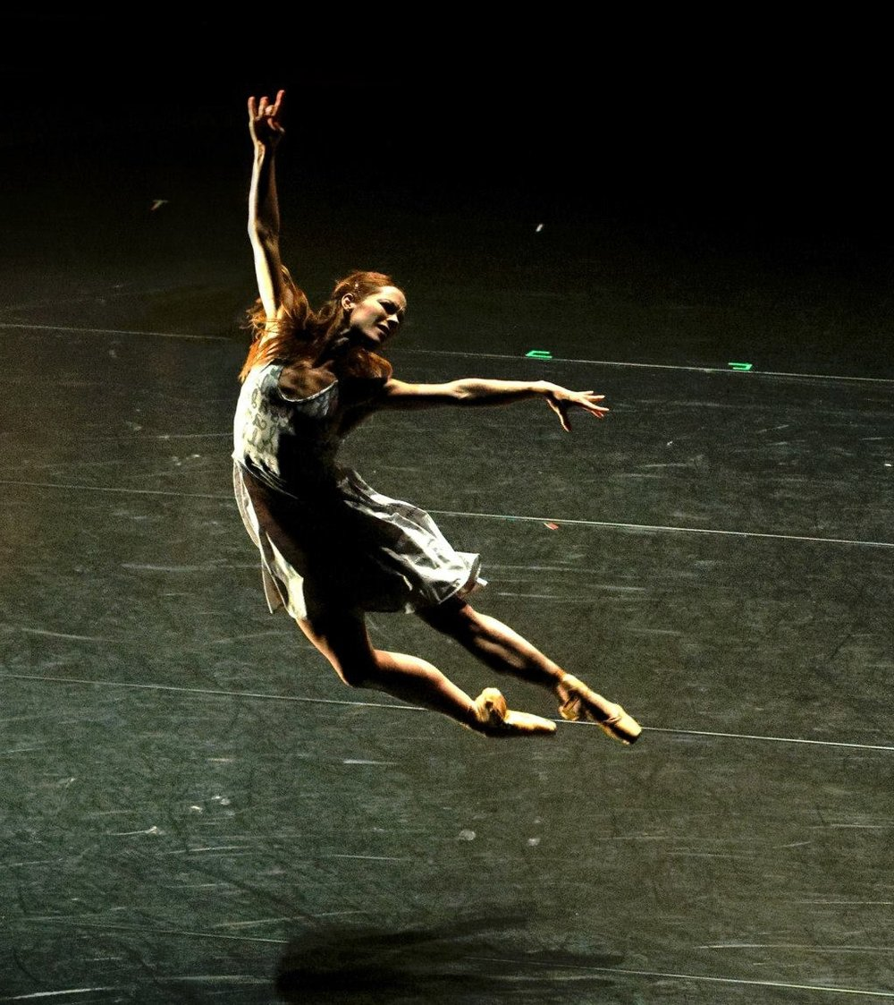 Terpsicorps dancer Alessa Rogers, photo by Dathan Brannon