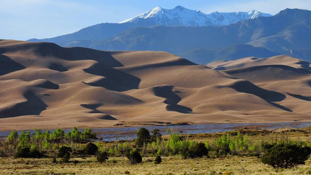 Great Sand Dunes National Park, Colorado. Image courtesy National Park Service.
