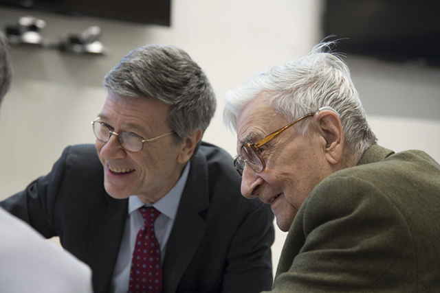 Jeff Sachs (Columbia University, Half-Earth Council), Edward O. Wilson