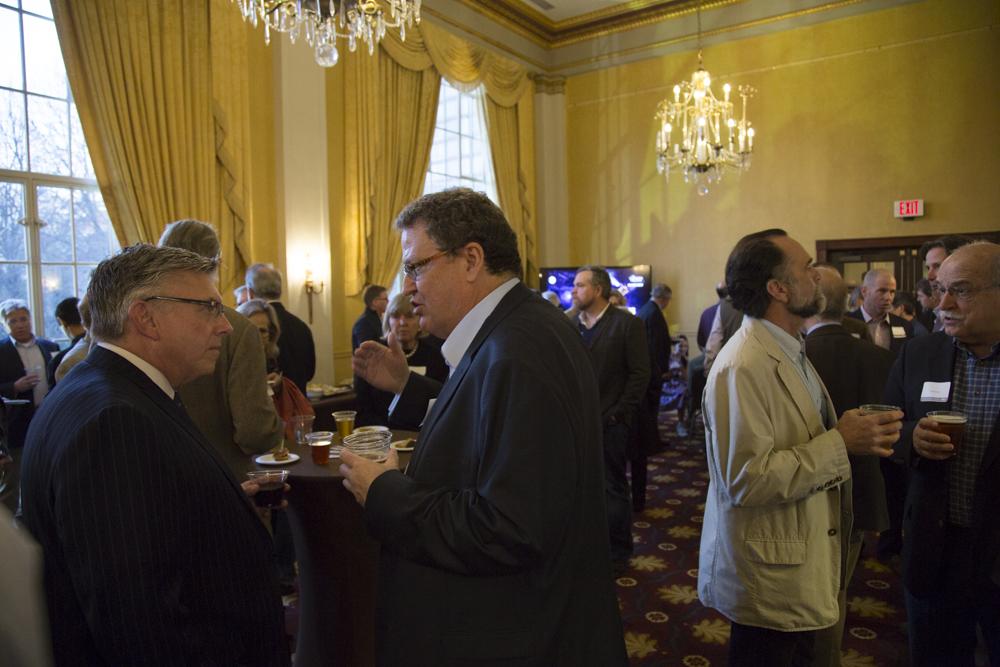 Greg Fishel (WRAL), Quentin Wheeler (SUNY ESF)