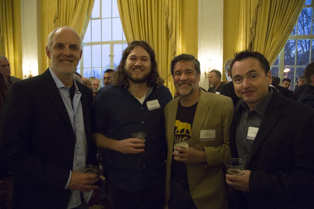 Geoff Luck, Brett Kuxhausen, Dennis Liu, James Byrne