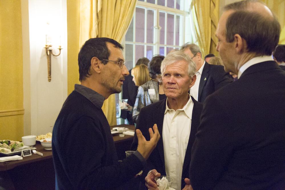 Ignacio Jimenez (Tompkins Conservation), Rick Ridgeway (Patagonia), David Prend (EOWBF Board Chairman)