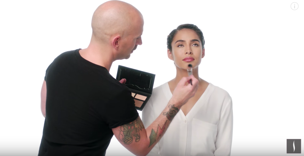 A Sephora how-to video