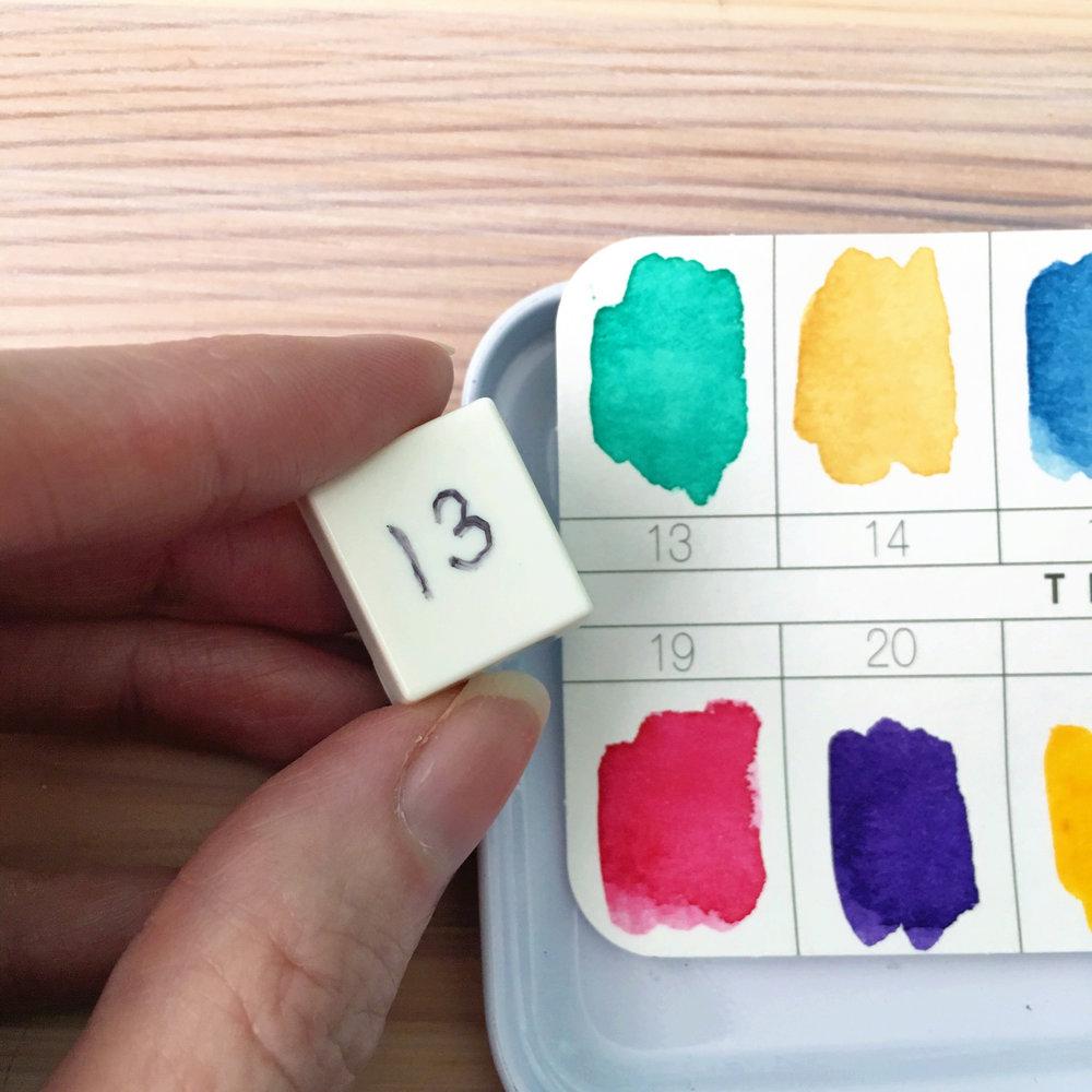Dani Claire. Artsy Goodness. My New Favorite Watercolor Set. Prima Watercolor Confections. Watercolor Art. Watercolor Paints. Hand lettering. Hand letterer. Watercolor lettering.