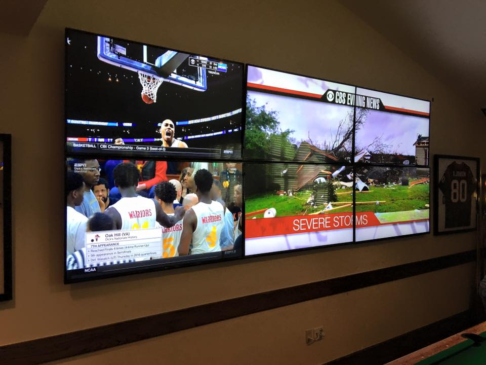 Custom TV Installation by Signal Audio Visual of San Antonio