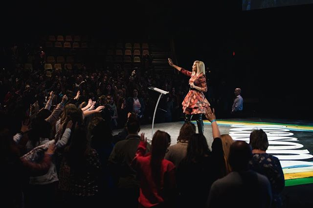 NIGHT ONE RECAP • what a special night! THANK YOU to @patsmithty for such a refreshingly real word! Doors open this morning at 8:30am - see you there!