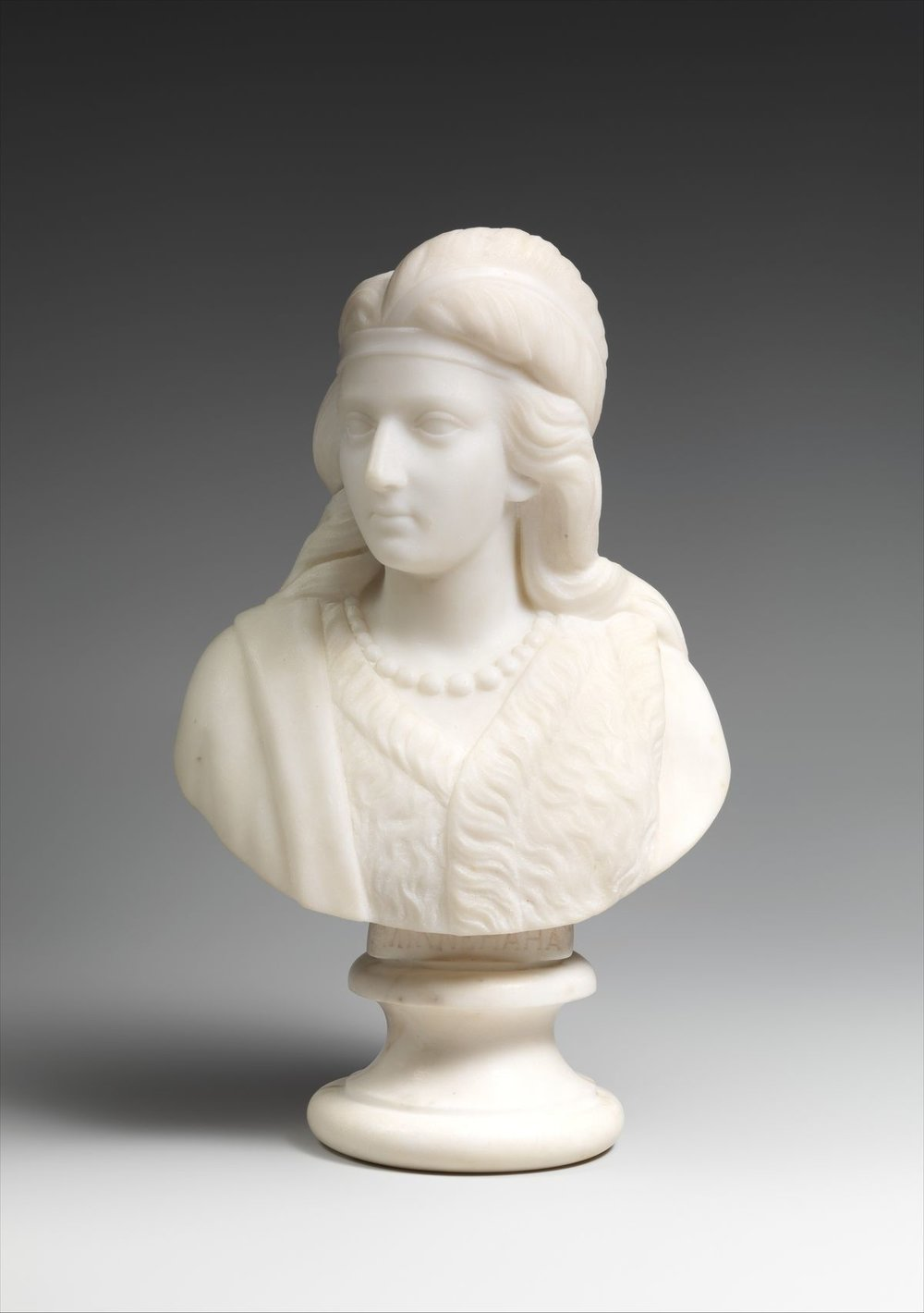 Edmonia Lewis, Minnehaha, 1868. Courtesy of The Metropolitan Museum of Art..jpeg