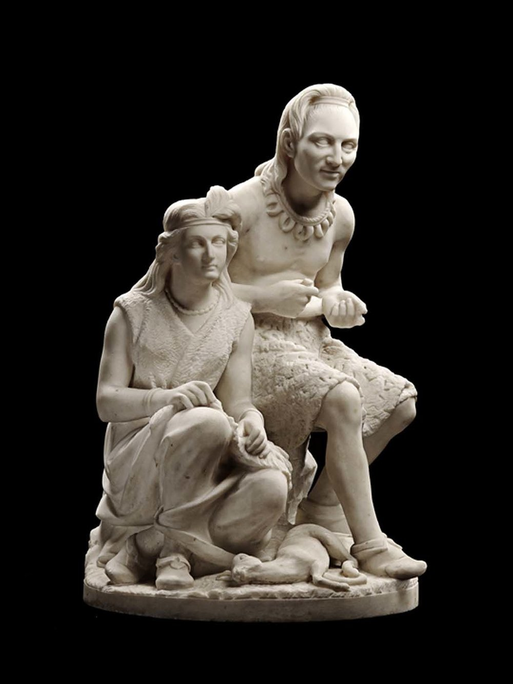 Edmonia Lewis, Old Arrow Maker, 1872. Courtesy of the Smithsonian American Art Museum..jpeg