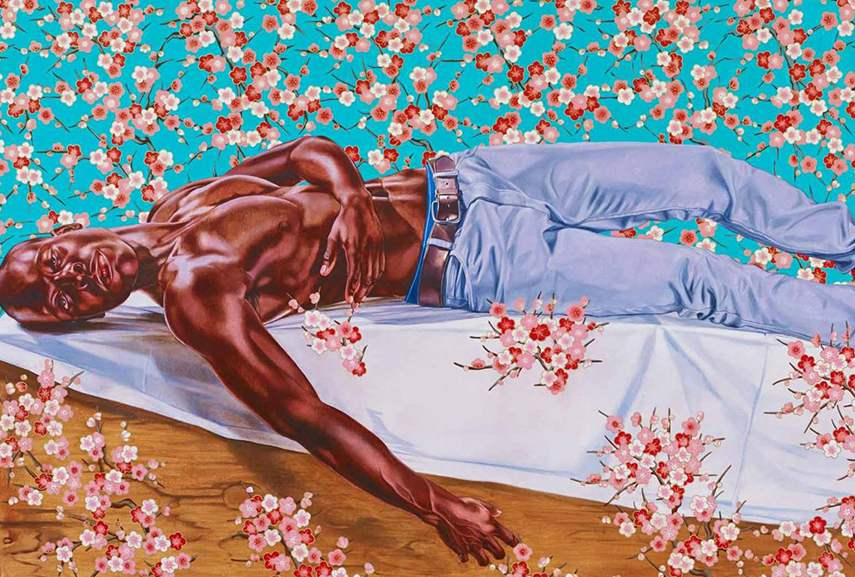 Kehinde Wiley – The Death of Chatterton, 2014 – Image via artslehigh.com.jpg