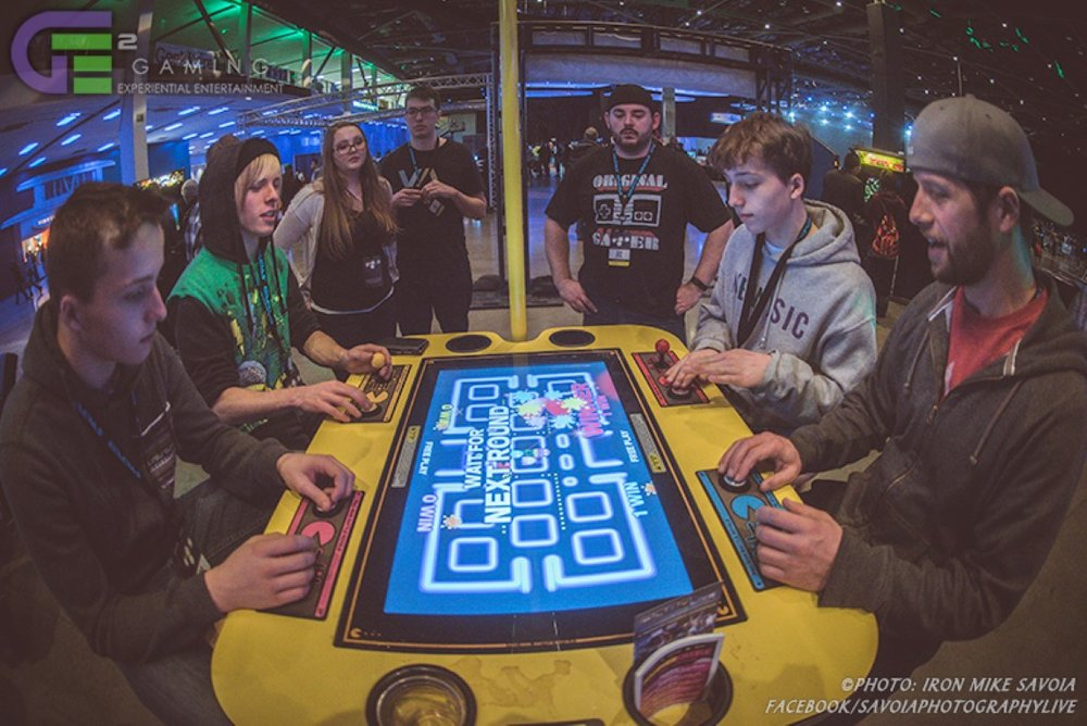 Don't watch. PLAY RETRO!   October 21-22, 2017 CenturyLink Field Event Center