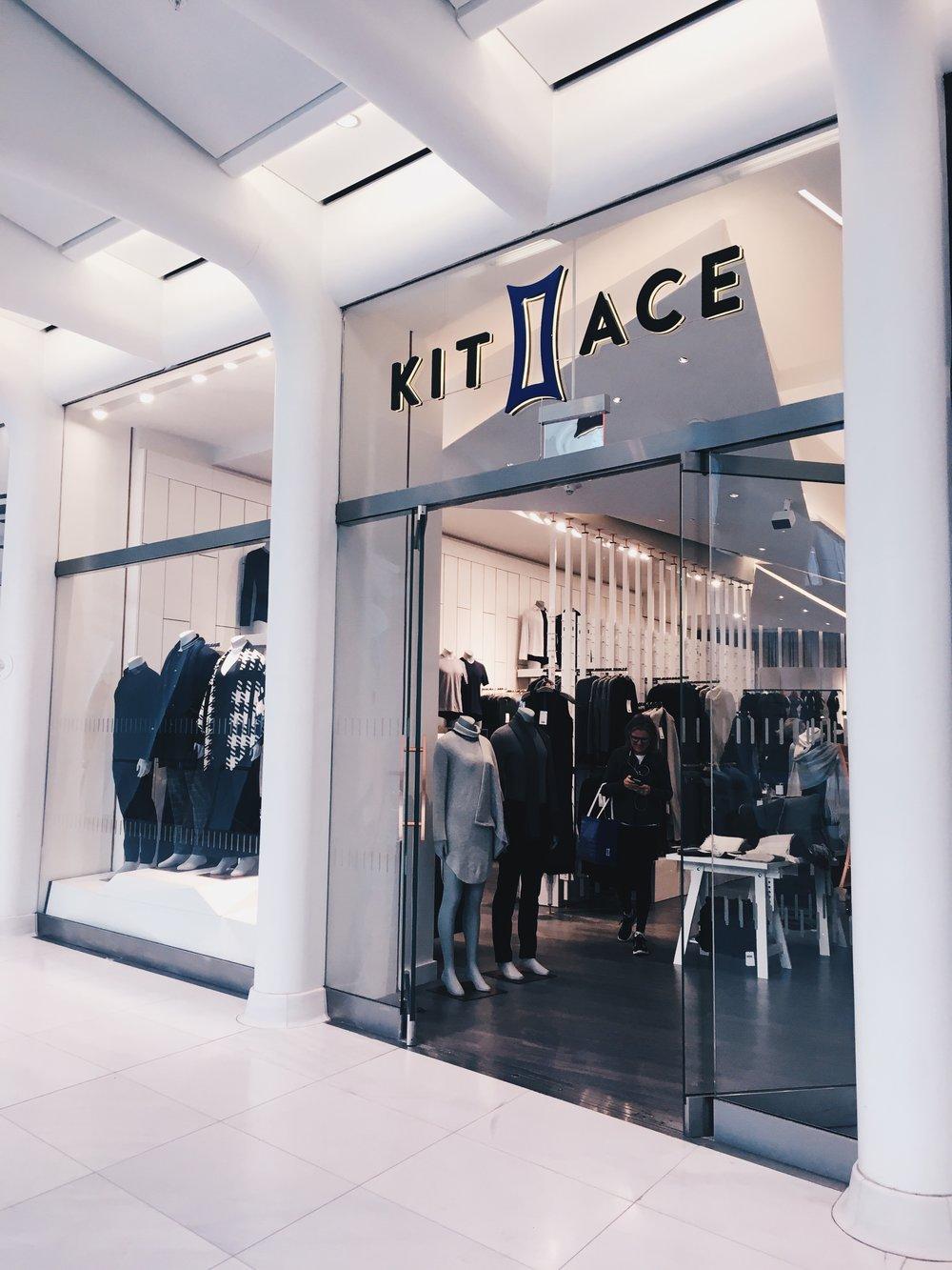 KIT+ACE storefront