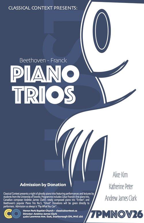 Ghosty Piano Trios - November 2016
