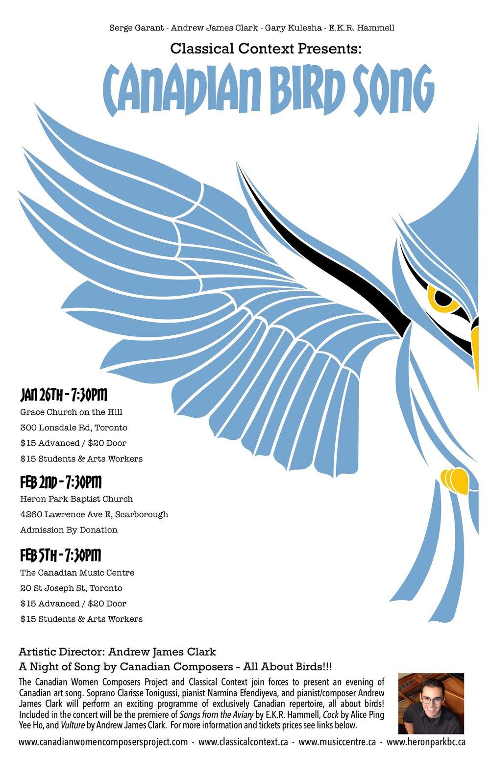 Canadian Bird Song