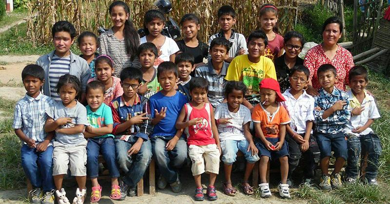 Kinderen van Rajkumar en Uma