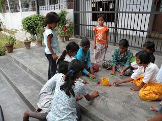 Familie huis in Delhi met klik kikkers uit Nederland
