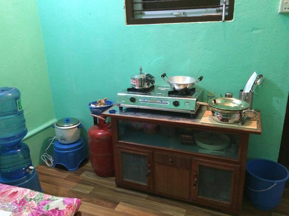 Manju's eerste keukentje.