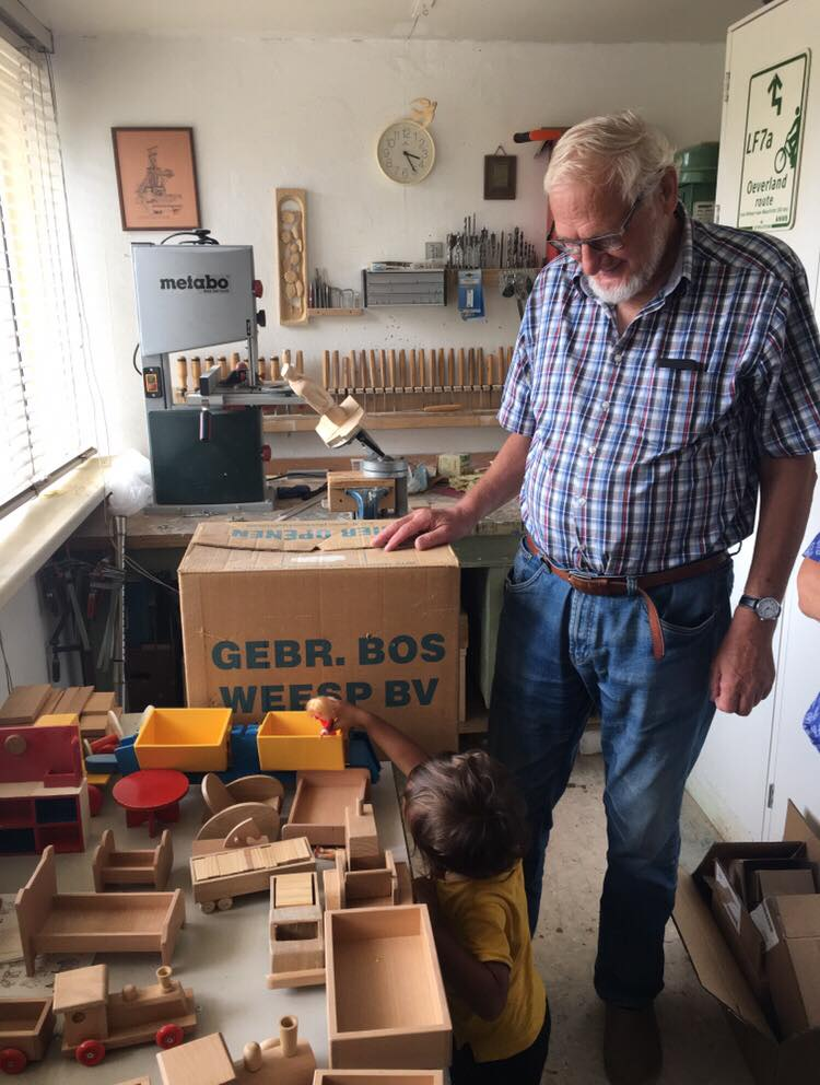 Jan Geertsma - Jan Geertsma is making some amazing wooden toys for children in Nepal that we will supply to one off our new partners! read more soon.