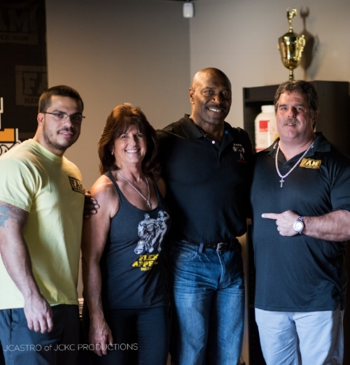 The One and Only 8 x mr. olympia lee haney seminar at f.a.m.