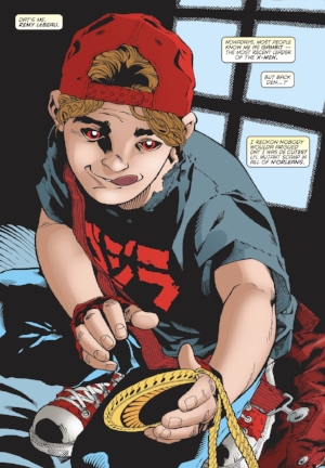 Remy Lebeau as a child ( Gambit Vol. 3 #25 )**