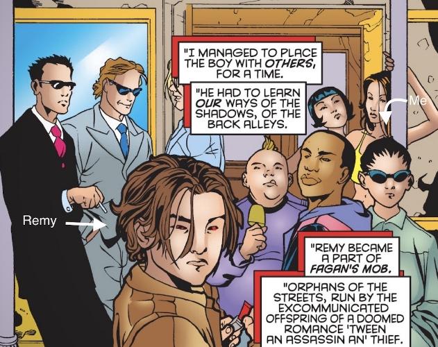 Fagan's Mob ( Gambit Vol. 3 #1 )