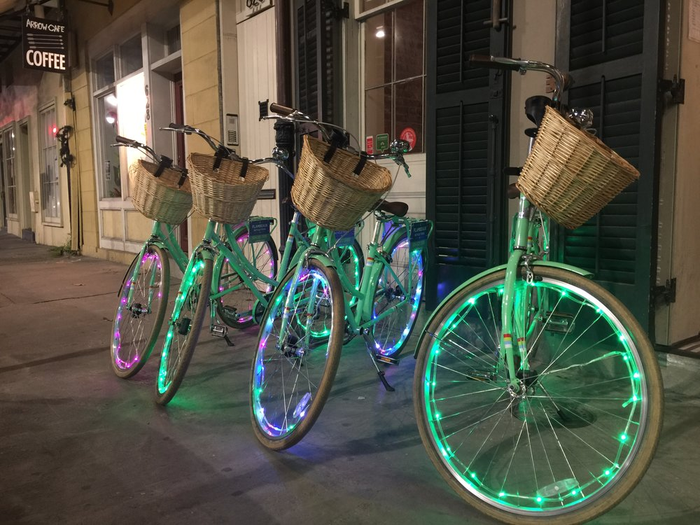 New Orleans Bike Lights