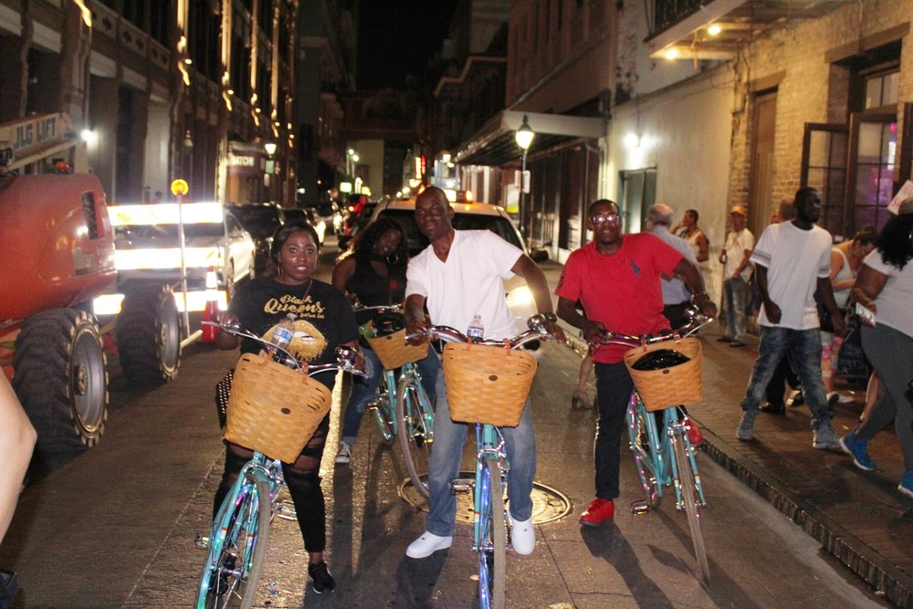 New Orleans party bike ride