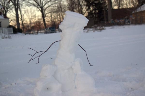 snow roller girl