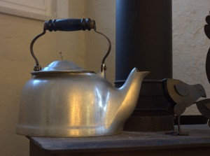 antique kettle humidifier
