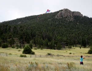 kite flying estes park